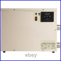 11KW 220V Pool Heater Thermostat Swimming Pool SPA Electric Water Heater Pump