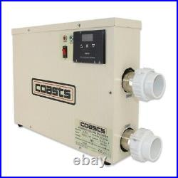 11KW 220V swimming pool heater SPA electric water heater constant temperature