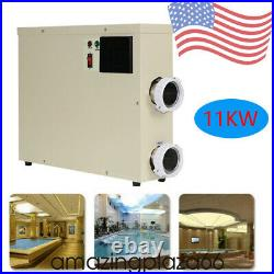 11KW 240V Pool Heater Thermostat Swimming Pool SPA Electric Water Heater Pump US