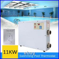 11KW Electric Swimming Pool Water Heater Thermostat Hot Tub Jacuzzi Spa 220V