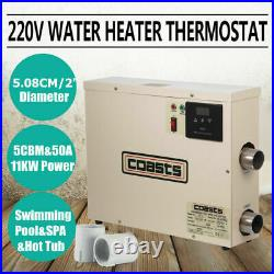 11KW swimming pool heater SPA electric water heater constant temperature hot tub