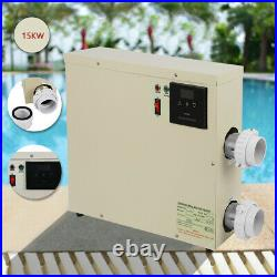 15KW 240V Swimming Pool Thermostat SPA Hot Tub Electric Bath Water Heater