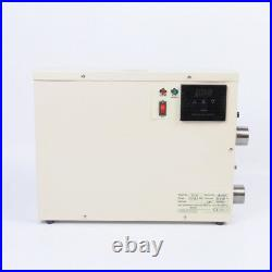 15KW Electric Swimming Pool Thermostat SPA Hot Tub Water Heater 220V 240V
