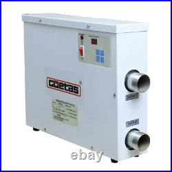 18KW 220V Digital Swimming Pool & SPA Electric Water Heater Thermostat Hot Tub