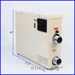 18KW Electric Swimming Pool Thermostat SPA Hot Tub Water Heater 220V