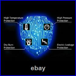 220V 11KW ELECTRIC Water Heater Swimming Pool SPA Hot Tub Thermostat NEW