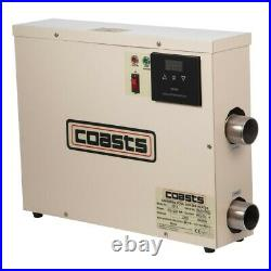 220V 11KW swimming pool heater SPA electric water heater constant temperature