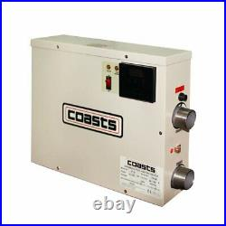 220V 15KW Thermostat Swimming Pool SPA Bath Water Heater Touch Screen Control