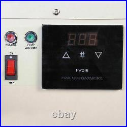 220V 240V 380V 18KW electric swimming pool thermostatic SPA hot tub water heater