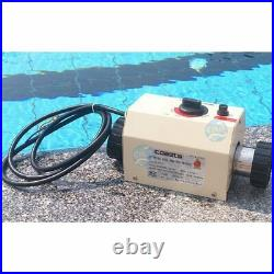 220V 2KW swimming pool and SPA heater electric heating thermostat