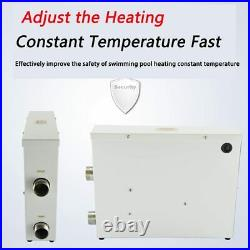 220V/380V Pool Heater Thermostat Swimming Pool SPA Electric Water Heater Pump