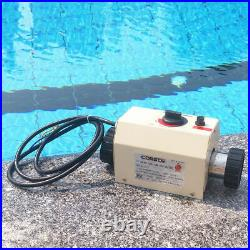 220V 3KW Swimming Pool SPA Heater Electric Water Heating Thermostat Machine