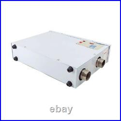 220V Electric Pool Water Heater 15KW Swimming Pool SPA Hot Tub Thermostat US