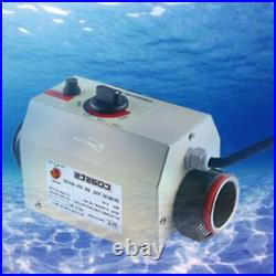 220V Water Heater Swimming Pool Thermostat SPA Bath Portable Electric Pool Heate