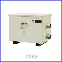 32Kw Electric Water Thermostat Heater Spa / Swimming Pool Water Heater 380V