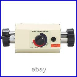 3KW 220V Electric Yard Swimming Pool Water Heater Thermostat SPA Hot Tub Safety