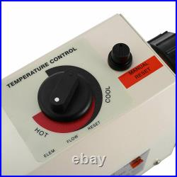 3KW 220V SPA water heater electric heat thermostat Bath tube for swimming pool