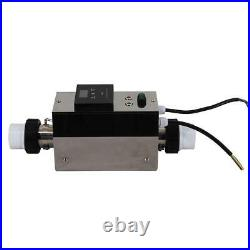 3KW 220V Swimming Pool SPA Heater Electric Heating Thermostat With Touch Screen