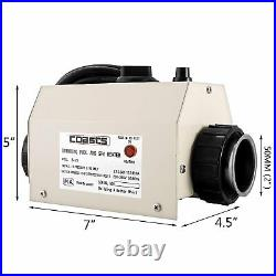 3KW 220V Swimming Pool and SPA Heater Electric Heating Thermostat Safety