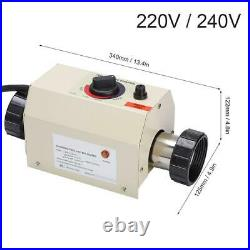 3KW 220/240V Swimming Pool Bath SPA Intelligent Electric Water Heater Thermostat