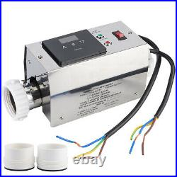 3KW 240V US Water Swimming Pool SPA Electric Heater Thermostat Bathtub Heating