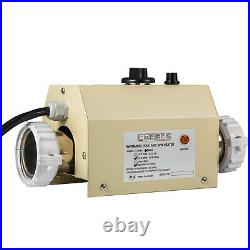 3kw Pool Thermostat Water Heater 1.89 Interface Spa Adjustable Easy To Install