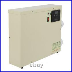 5.5KW 220V Pool Heater Thermostat Swimming Pool SPA Electric Water Heater Pump