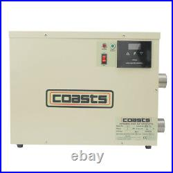 5.5KW 240V Digital Swimming Pool SPA Electric Water Heater Thermostat Hot Tub