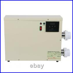 5.5KW 240V Pool Heater Thermostat Swimming Pool SPA Electric Water Heater Pump