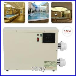 5.5/11/15KW Pool Heater Thermostat Swimming Pool SPA Electric Water Heater 240V
