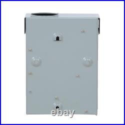 60 Amp GFI Spa Panel Load Center for Outdoor Hot Tub Water Heater Swimming Pools
