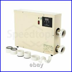 7.5KW Electric Swimming Pool Thermostat SPA Hot Tub Water Heater 220V 240V 380V