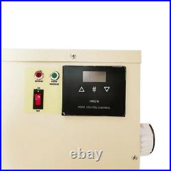 9KW Electric Swimming Pool Thermostat SPA Hot Tub Water Heater 220V
