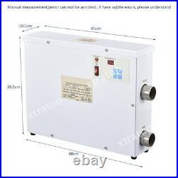 9KW Swimming Pool Heater Thermostat Bath SPA Hot Tub Electric Water Heat Pump