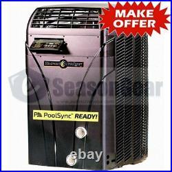 AquaCal SQ145 HeatWave SuperQuiet Heat Pump 119,000 BTU, 2020, Pool Spa Heater