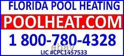 AquaCal T55 Pool & Spa Heater 51,000 BTU Unit