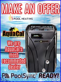 AquaCal T75 Pool & Spa Heater FREE POOL SYNC WIFI CONTROLLER
