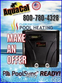 AquaCal T75 Pool & Spa Heater UNIT SHIPPING 3/1