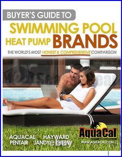 AquaCal TropiCal T115 Heat Pump 112,000 BTU, 2020 Aqua Cal Pool & Spa Heater