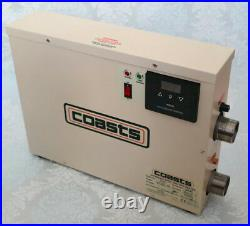 COASTS 7.5KW ST-7.5 WATER HEATER THERMOSTAT for SWIMMING POOL POND & SPA BATH