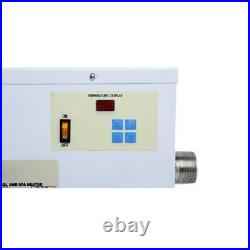 ELECTRIC Water Heater 3/5.5/9/11/15/18KW Swimming Pool SPA Hot Tub Thermostat