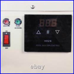 Electric Swimming Pool Thermostat SPA Hot Tub Water Heater 18KW 220V 240V 380V