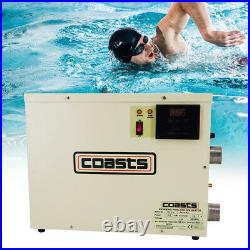 Electric Swimming Pool Thermostat SPA Hot Tub Water Heater 9KW 220V 240V 380V