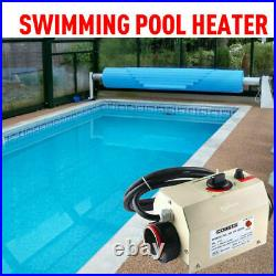 Electric Water Heater 3KW 220V Swimming Pool SPA Hot Tub Heater Thermostat New