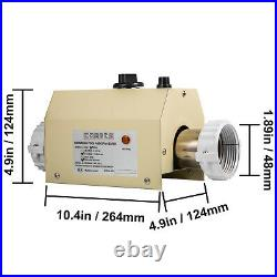 Electric Water Heater Thermostat 3KW 220V Swimming Pool & Bath SPA Hot Tub New