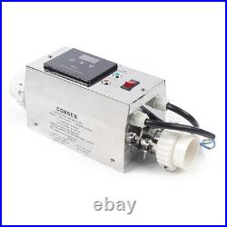 Electric Water Heater Thermostat 3KW 220V for Swimming Pool Bath SPA Hot Tub