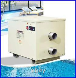 Electric Water Thermostat Heater 380V 32Kw Spa / Swimming Pool Water Heater