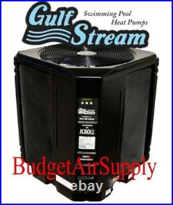 Gulf Stream Heat Pump Pool Swimming 117,000 Btu Heater HE125 for Pool and Spa