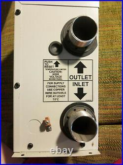 Hayward Spa Heater, 11 kilowatt, 240 v, CSPAXI. Compare to Raypak E3T