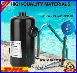 High Quality Swimming Pool Heat Exchanger Stainless Thermostat SPA Water Heater